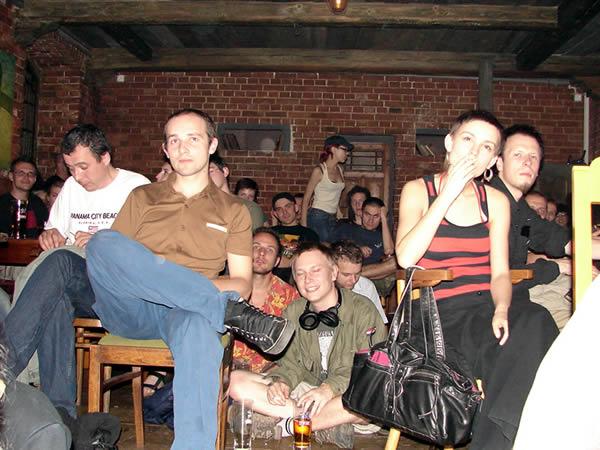 Publiczność dosyć znana