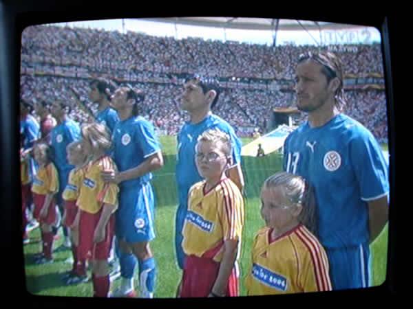 Anglia : Paragwaj