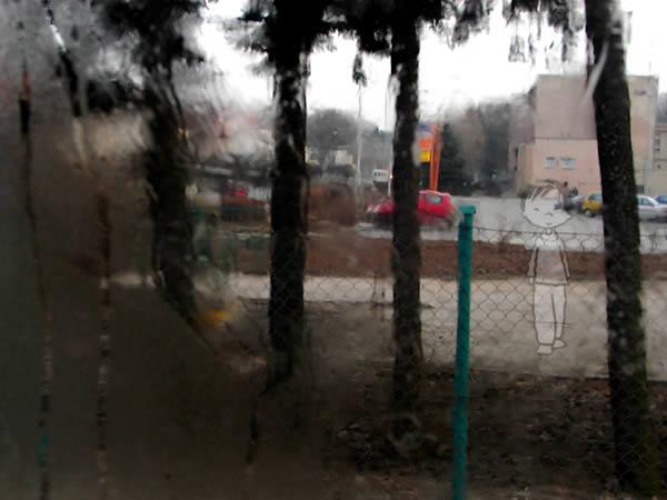 Dreszcz deszcz szcze