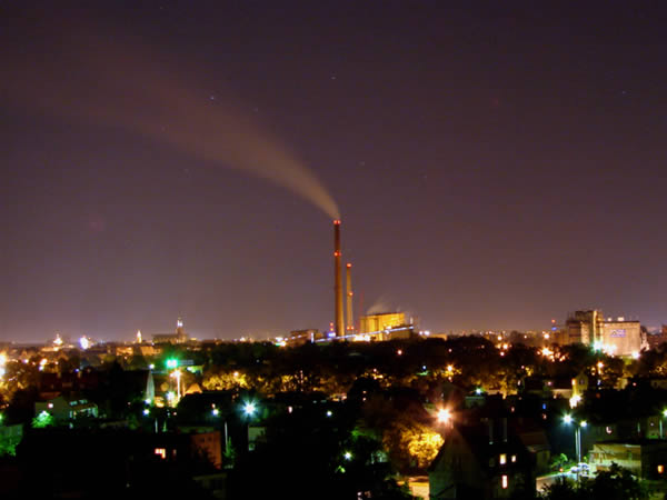 Zdjęcie - Noc we Wrocławiu