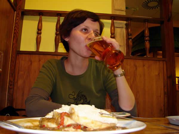 Czeskie jedzenie