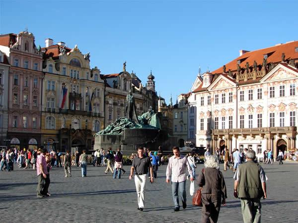 Zdjęcie - Rynek w Pradze