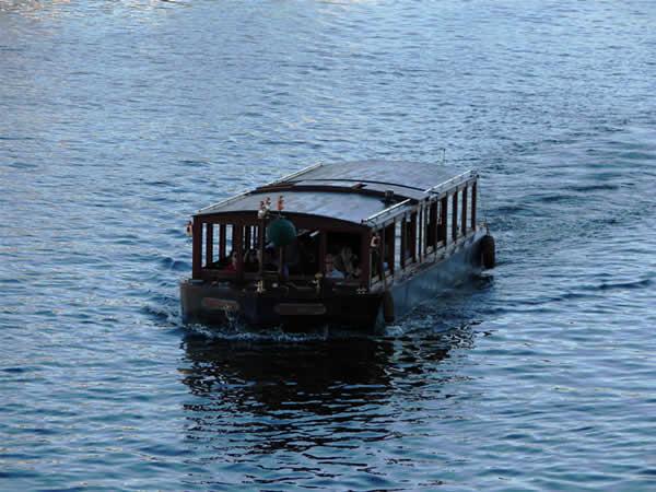 Statek na Wełtawie
