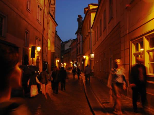 Uliczki w Pradze