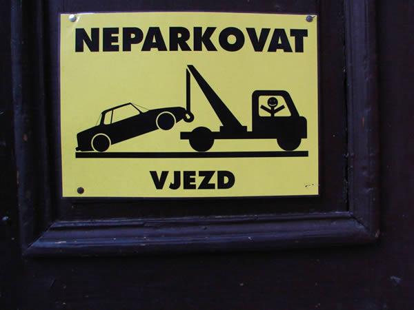 Zdjęcie - Nie parkować