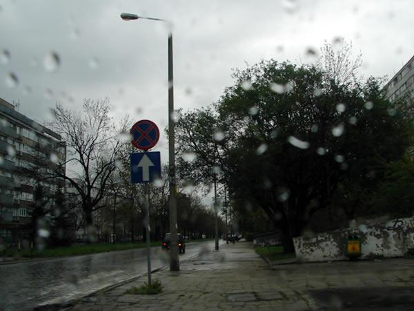 Lekki deszczyk emocji