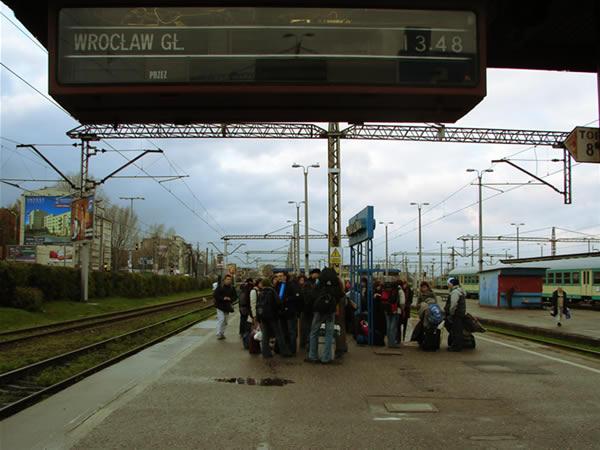 Z Gdyni do Wrocławia