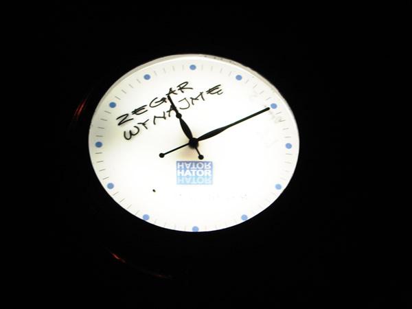 Zegar do wynajęcia