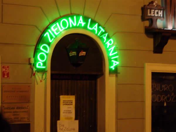 Pod zieloną latarnią