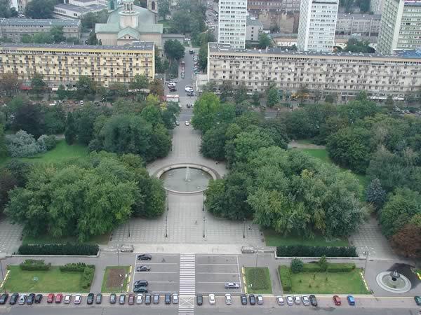 Zdjęcie - Widok z Pałacu Kultury