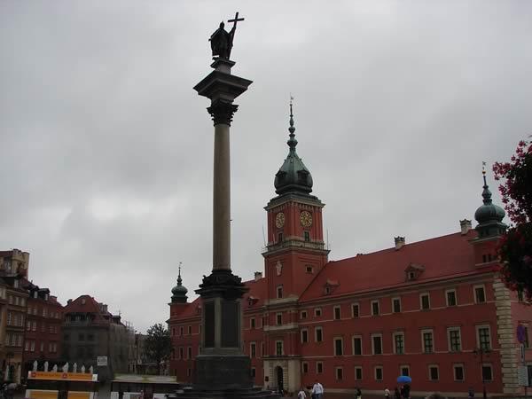 Kolumna Zygmunta i Zamek Królewski