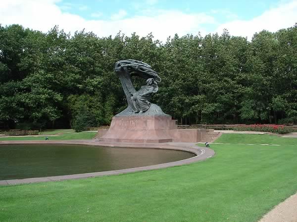 Zdjęcie - Pomnik Szopena
