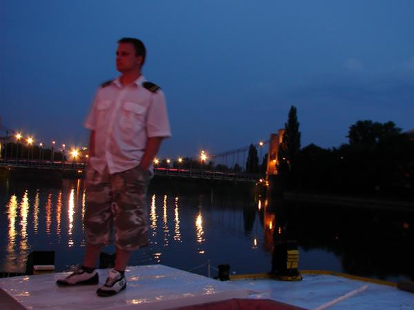 Zdjęcie - Most Grunwaldzki nocą