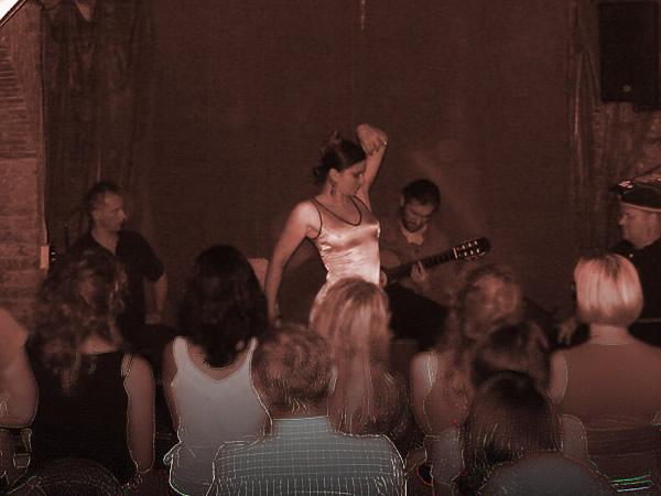 Zdjęcie - Tanicząca flamenco