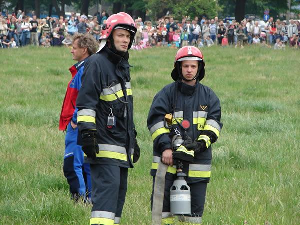 Jak Wojtek został strażakiem?