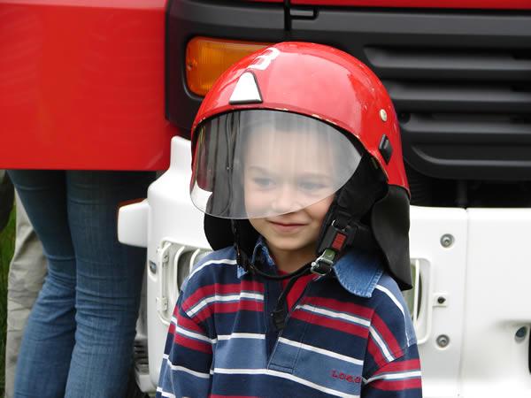 Zdjęcie - Wojtek został strażakiem