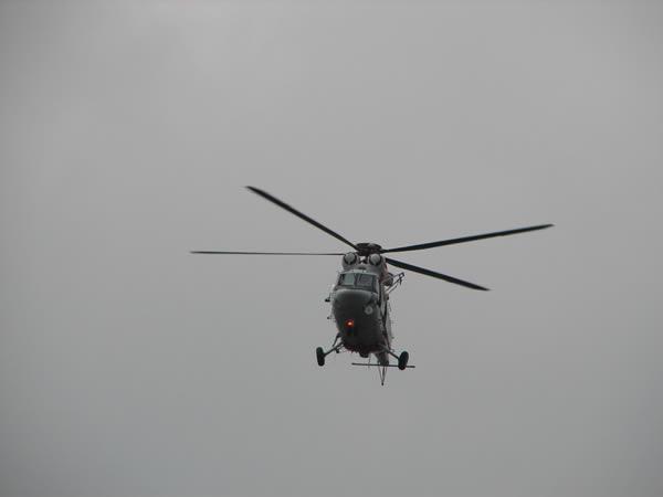 Zdjęcie - Helikopter w ogniu