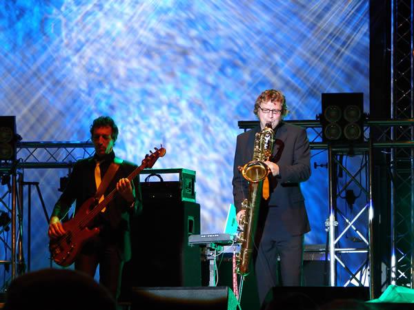 Saksofon - bogato