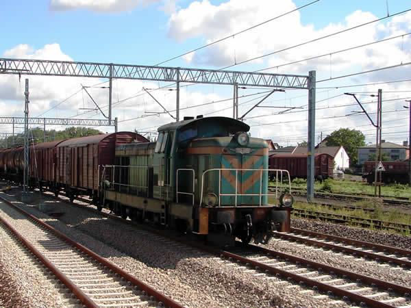Zdjęcie - Pociąg na prąd