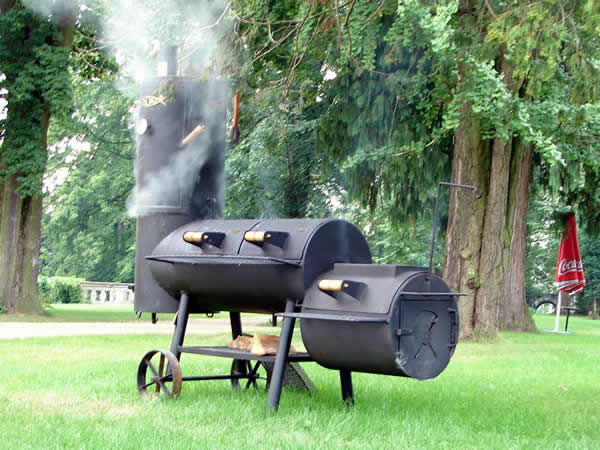 Maszyna czasu, czyli odjechany grill