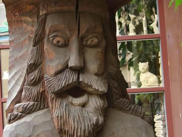 Drewniany dziad