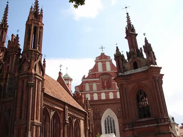 Kościóły św. Anny oraz św. Franciszka i Bernardyna