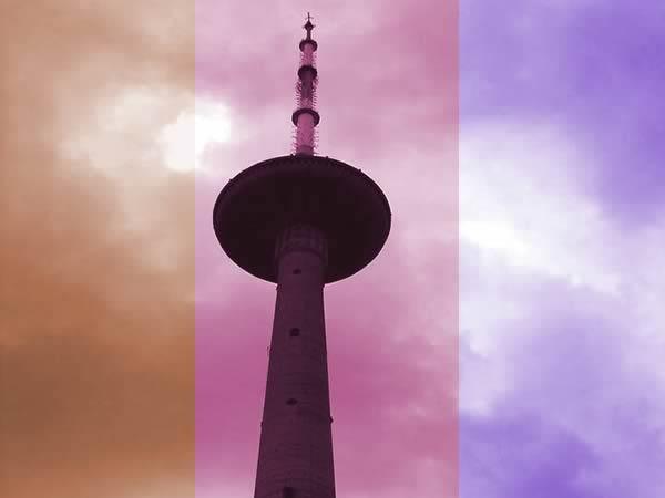 Telebaszta, czyli wieża telewizyjna