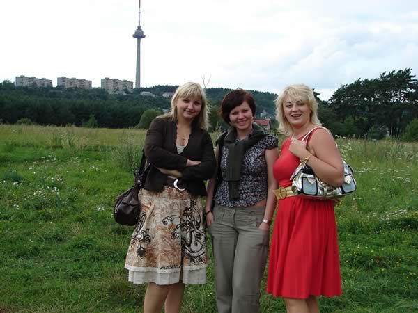 Natalia, Polka, Ina - i wieża oczywiście