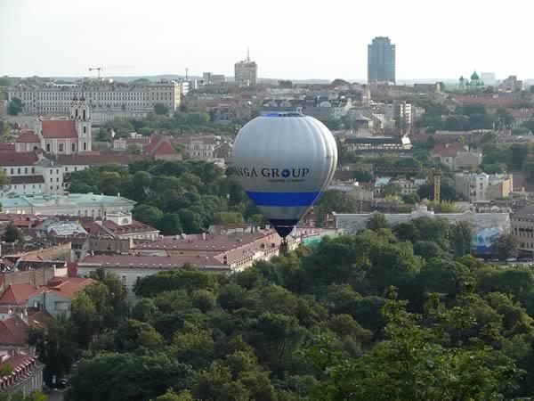 Zdjęcie - Wilno pod balonem