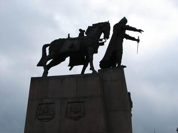 Pomnik Giedymina w Wilnie