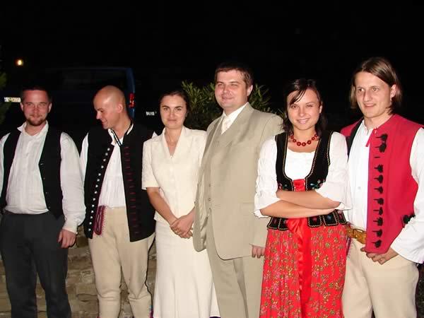 Ola i Piotrek z górolami, hej