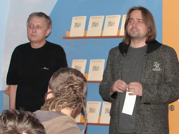 Andrzej Sosnowski i Artur Burszta