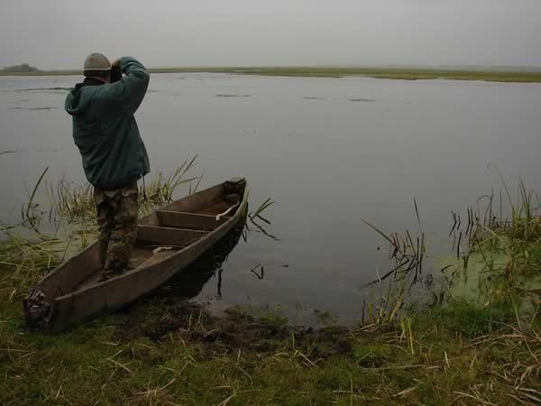 Irek w łodzi