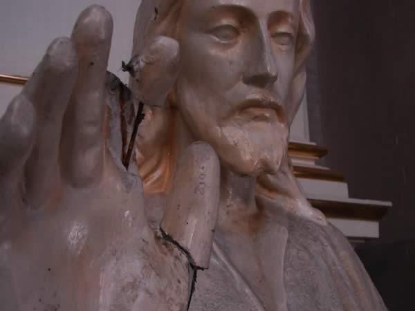 Zdjęcie - Jezus i jego chory palec