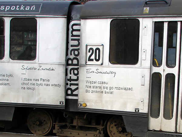 RITA BAUM - tramwaj nr 20, dodano: 2008-1-25