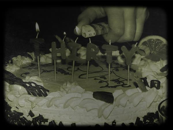 Zdjęcie - Urodzinowy tort