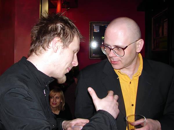 Karol Pęcherz i Marcin Sendecki