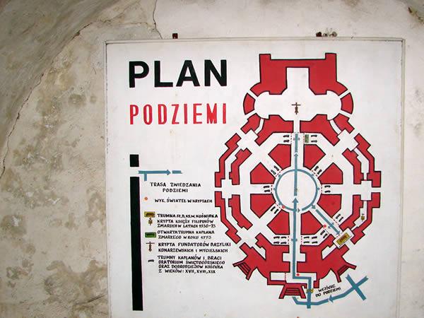 Plan podziemi