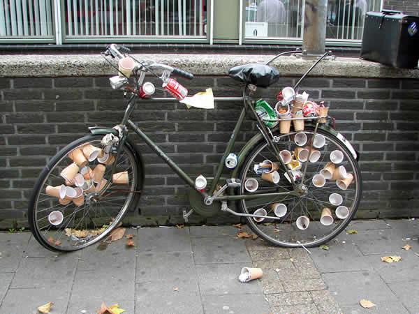 Holandia to kraj rowerów