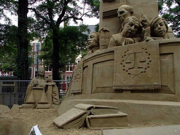 Rzeźba w piasku