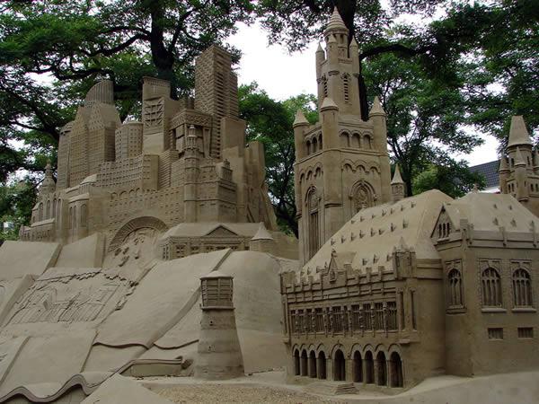 Zamek w pisaku