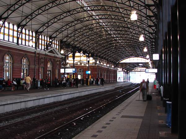 Dworzec w Hadze