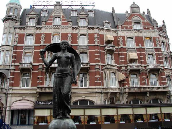 Zaczynamy zwiedzanie Amsterdamu