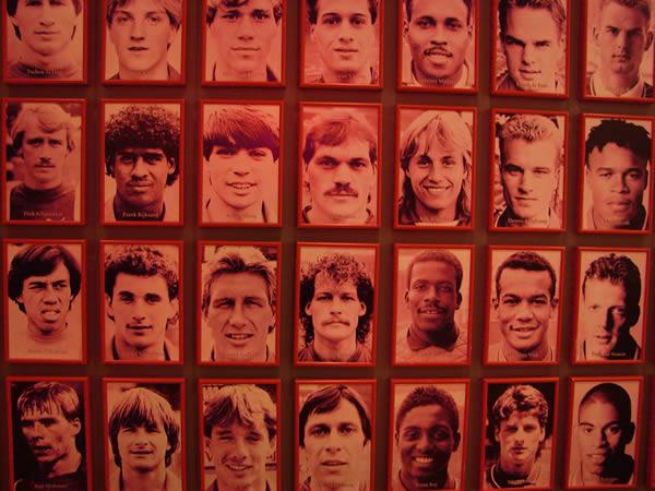 W muzeum Ajaxu Amsterdam