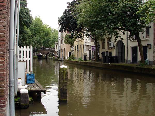 Utrecht kanał