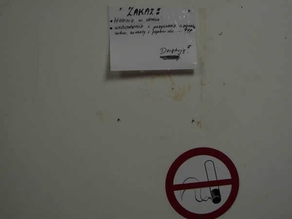 Zakazy na campingu