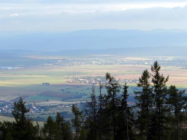 Koniec trasy - widok na doliny