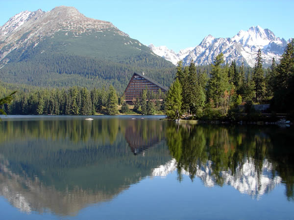 Zdjęcie - Szczyrbskie Jezioro