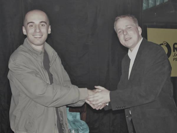 Przywitanie Marcin i Michał