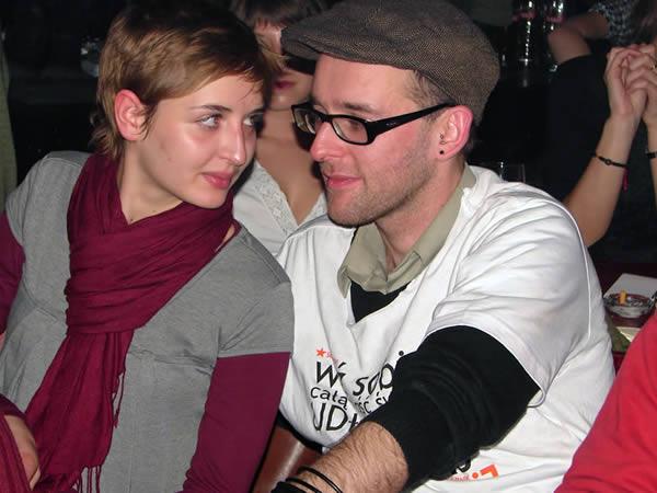 Pani i Przemek Witkowski